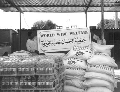 World Wide Welfare providing emergency rice and cooking oil